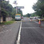 Un motorista de la ruta 144 fue asesinado sobre el kilómetro 19 de la carretera Panamericana, San Martín.