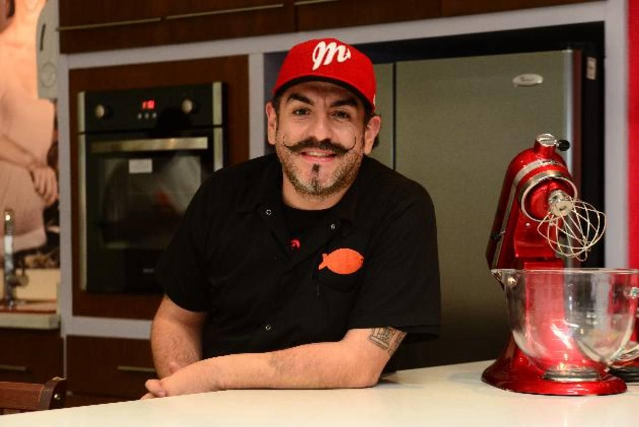Originario de Tabasco, al sur de México y fronterizo con Guatemala, Aquiles Chávez afirma estar familiarizado con las costumbres y la gastronomía centroamericana. foto EDH / Cesar avilés