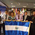 El Salvador ganó oro en Olimpiada Iberoamericana de Química