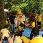 Más de 150 niños disfrutaron de la fiesta del Día del Niño en el Parque Bicentenario. fotos edh / lissette monterrosa