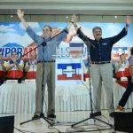 El alcalde de San Salvador, Norman Quijano, aseguró que dará su apoyo a la candidatura de Edwin Zamora, proclamado ayer para relevar al actual edil en 2015. Marlon Hernández