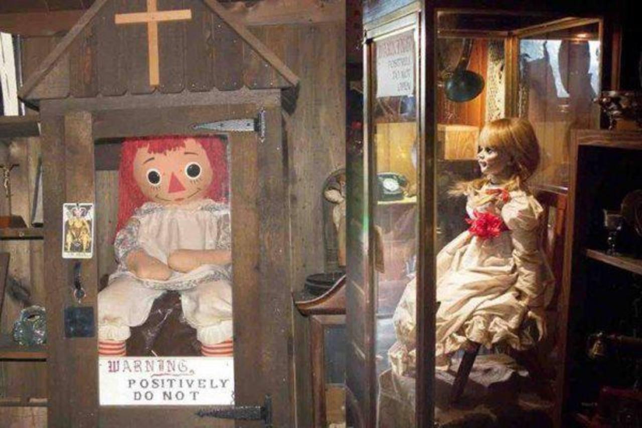 ¿Sucesos paranormales durante el rodaje de Annabelle?