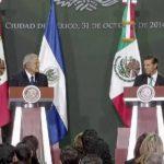 Sánchez Cerén y Peña Nieto firman pacto de cooperación en comercio, seguridad y migración