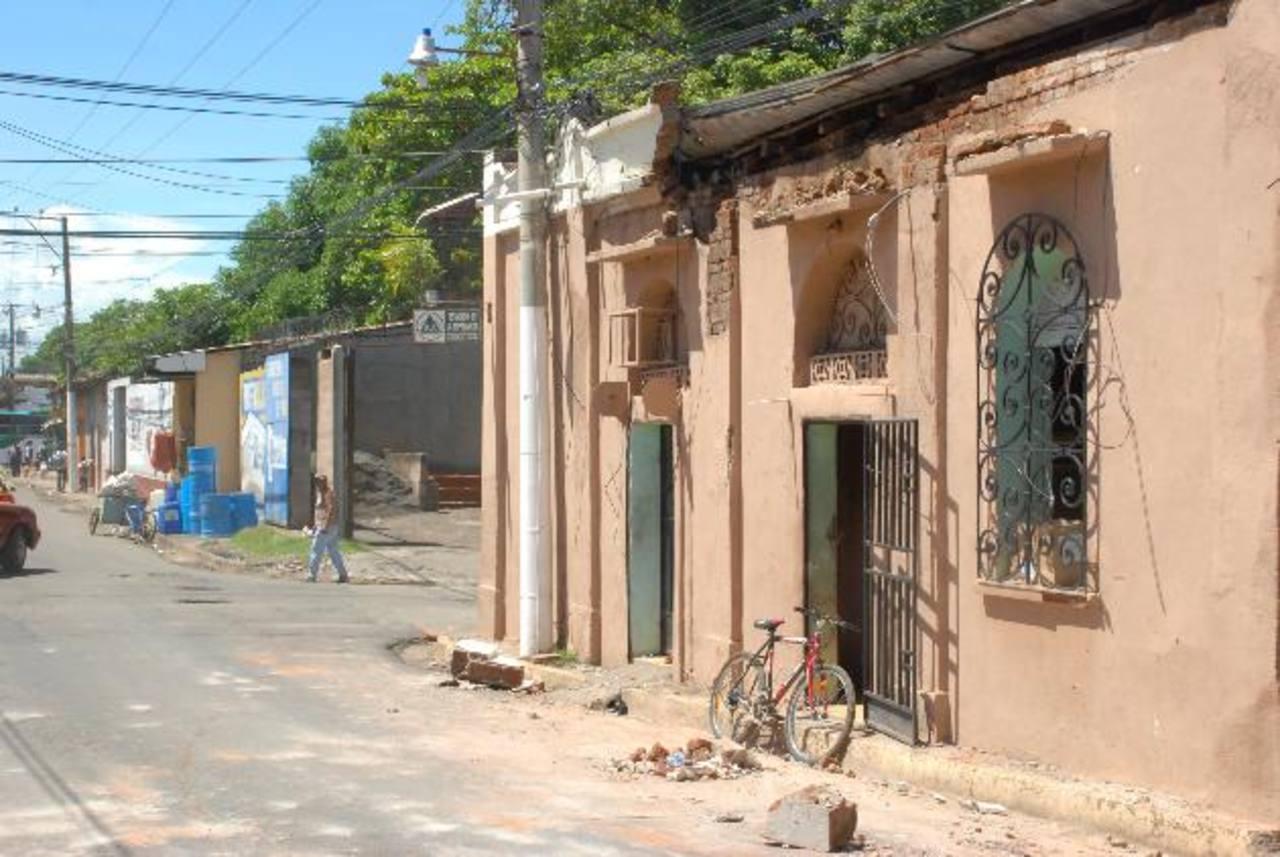 Algunas viviendas en el oriente de El Salvador resultaron dañadas