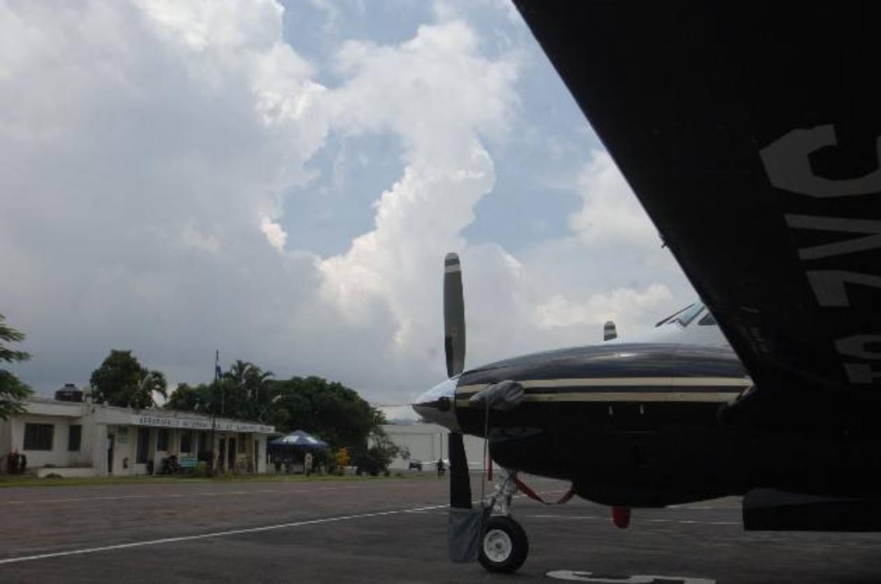 Aviación Civil y CEPA buscan reactivar el Aeropuerto de Ilopango para vuelos regionales e internacionales. foto edh / archivo
