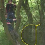 ¿Fotografió un fantasma junto a sus hijos?