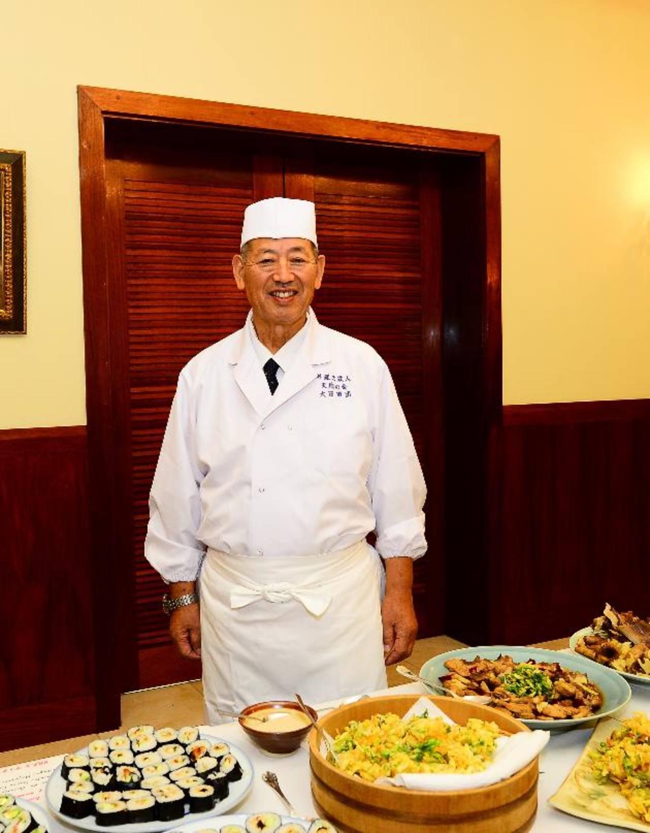 """Tadamichi Ota recibió el reconocimiento de Iron Chef al derrotar al chef Hiroyuki Sakai en la célebre """"Batalla del pulpo"""" en un programa de cocina japonesa. Fotos EDH / Omar carbonero"""