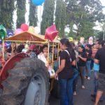 Con el desfile de Correo inician las fiestas en San Miguel