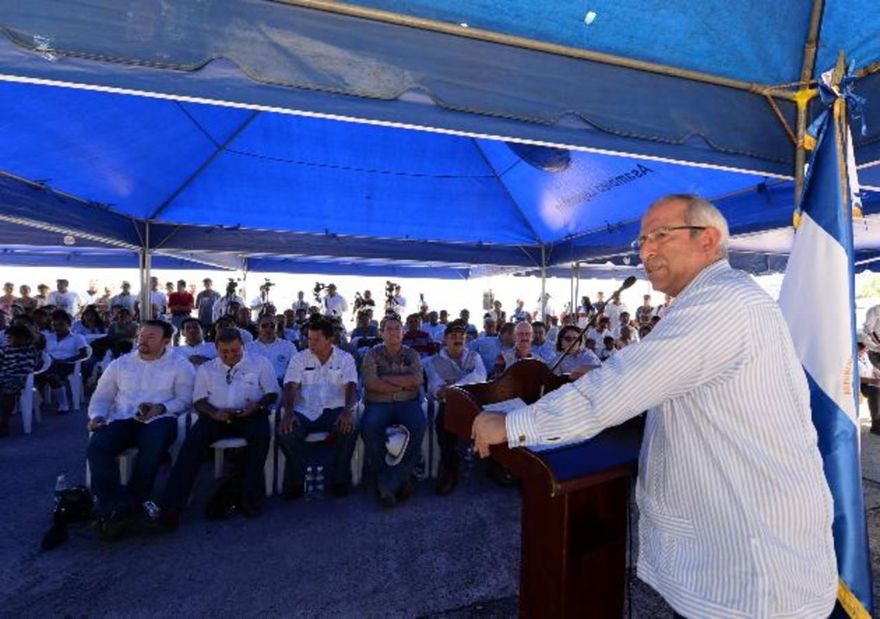 Los legisladores salvadoreños hablaron de invasión a la isla de parte de autoridades de Honduras. Foto edh / Húber Rosales