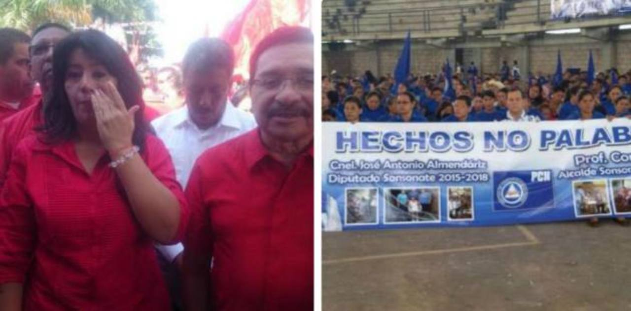 FMLN y PCN presentan candidatos a alcaldes en la zona occidental