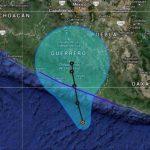 Tormenta tropical Trudy avanza sobre costa Pacífico de México