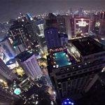 Video: Salta de torre y aterriza en piscina... del edificio cercano