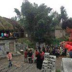 Vecinos de Tan Minghua, en Zhenxiong, Yunnan, alertaron a las autoridades