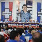 En mayo pasado, ARENA realizó una Asamblea extraordinaria para avalar el proceso interno de elección de candidatos. foto edh