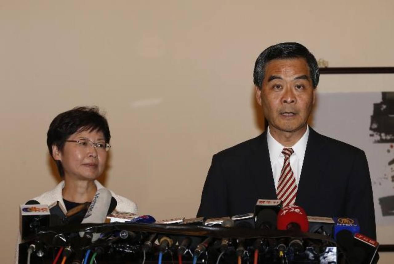 Ejecutivo ofrece negociar con los estudiantes bajo reglas del régimen chino
