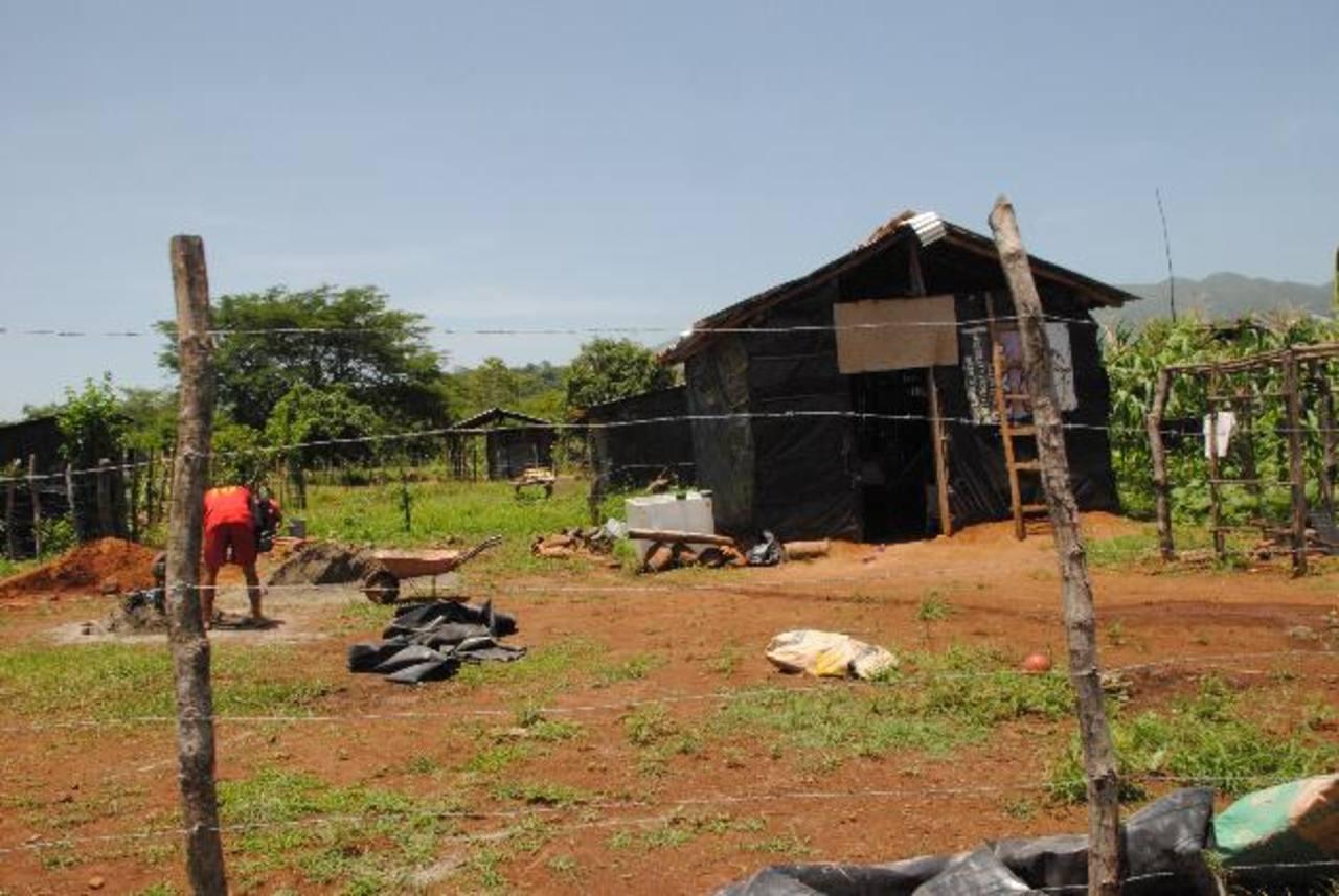 Desde el año pasado llegaron a tomarse los terrenos que son propiedad del Instituto Salvadoreño de Transformación Agraria (ISTA) en jurisdicción de Conchagua. Foto edh / INSY MENDOZA