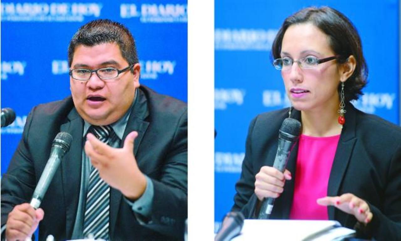 Rolando Masis López y Nadia Patricia Rodríguez