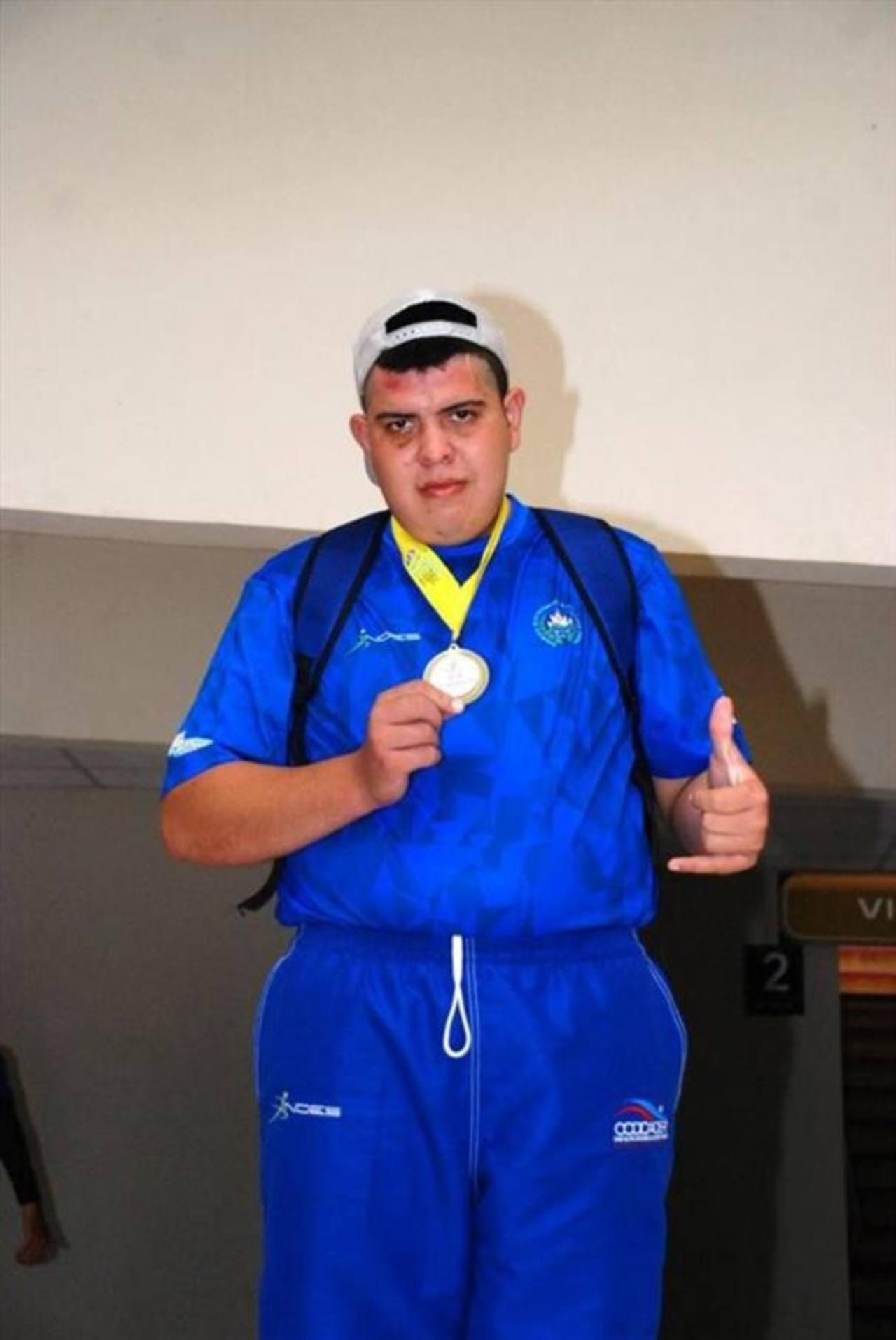 Noé Enrique Bonilla Orellana, un atleta con capacidades especiales.