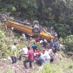 Mueren 11 Testigos de Jehová al volcar autobús en Honduras