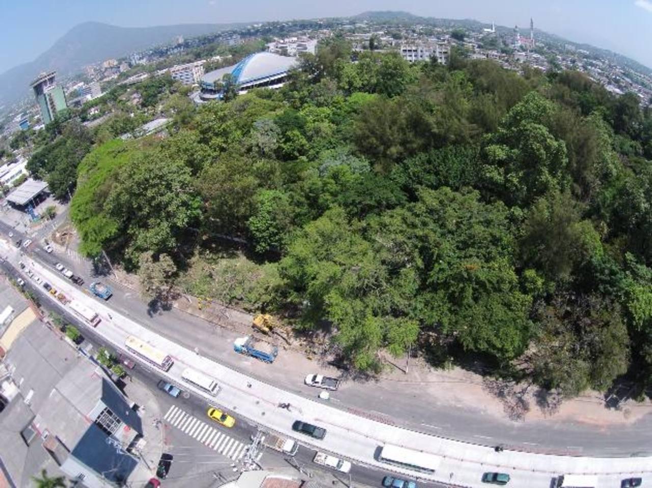En abril, las autoridades de Obras Públicas prometieron sembrar un bosque en la zona de atrás del Parque Infantil, para ello destruirían dos edificios antiguos. foto edh / archivo