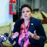 Margarita Escobar, diputada de ARENA, Foto EDH/ Jorge Reyes.