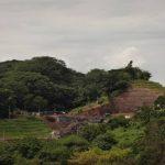 Vista de los trabajos de expansión de la presa 5 de Noviembre, realizados por la empresa Queiroz Galvao. FOTO EDH / JUAN JOSÉ MORALES