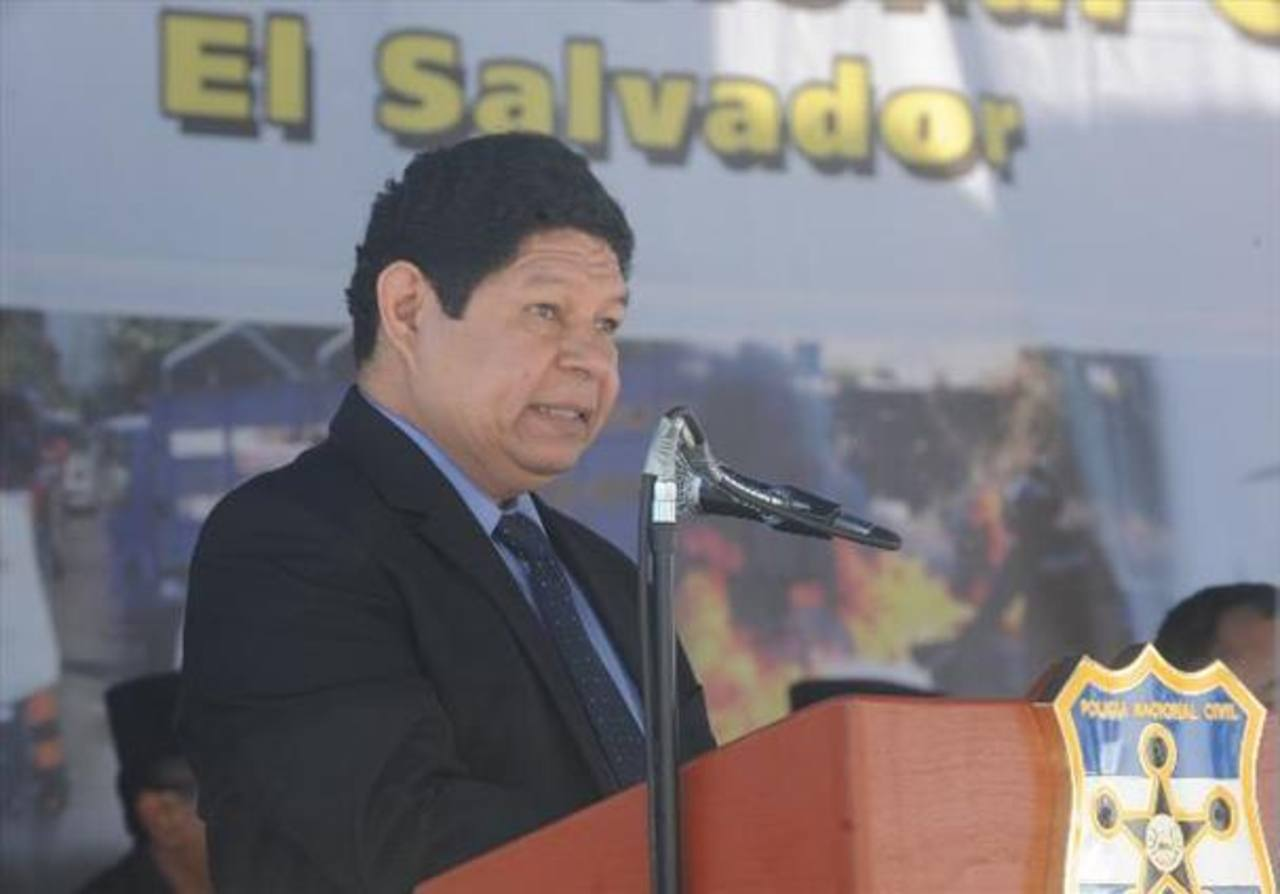 Benito Lara, ministro de Justicia y Seguridad