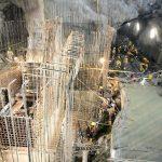 La represa Patuca III tendrá una cortina de 58 metros de altura por 210 metros de largo.