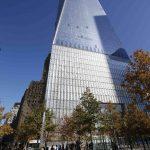 El One World Trade Center, que tiene 104 niveles, domina el paisaje de Manhattan.