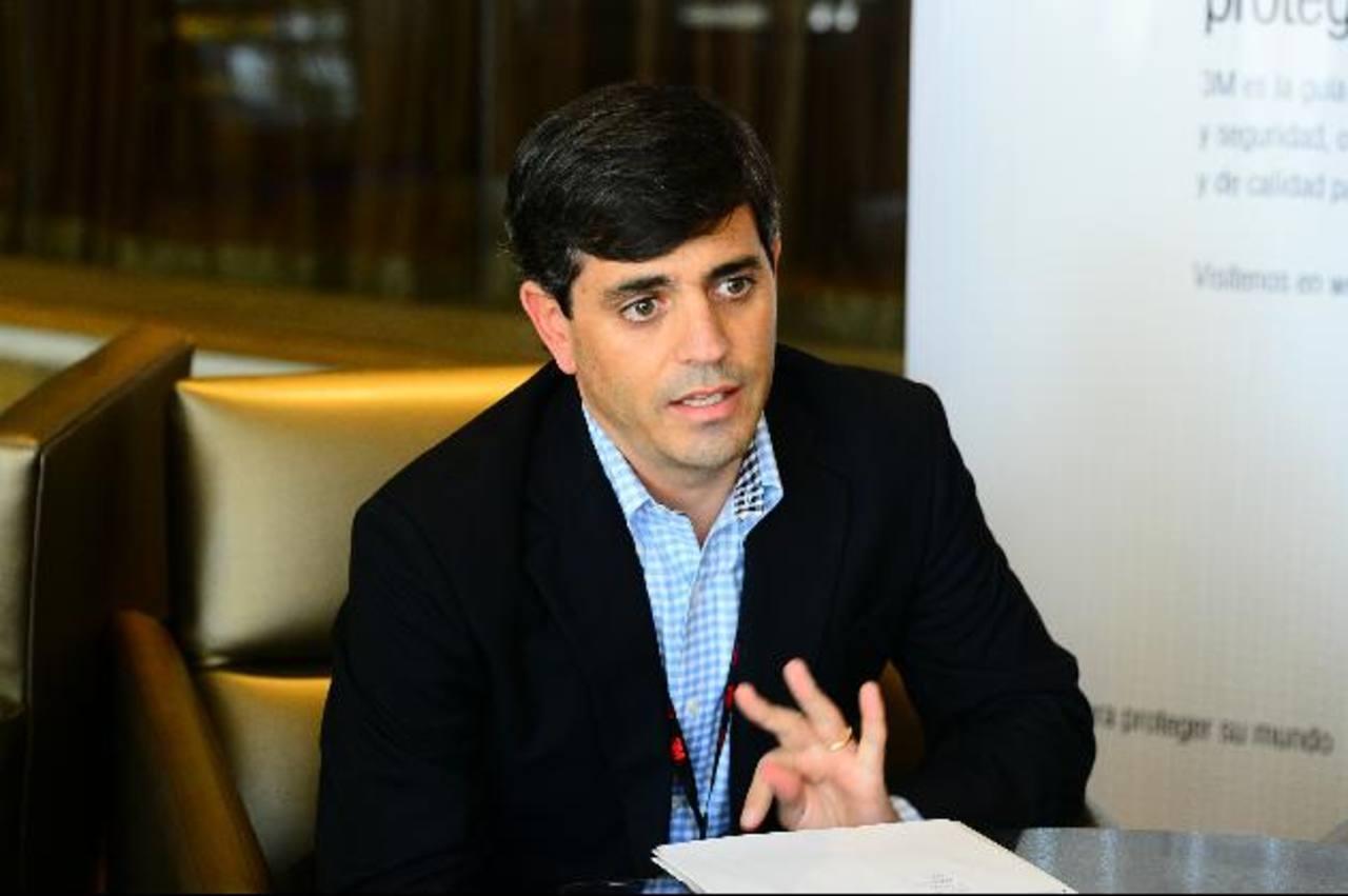 Cristian Vargas Valenzuela, gerente de la división de salud ocupacional de 3M para Centroamérica y El Caribe.