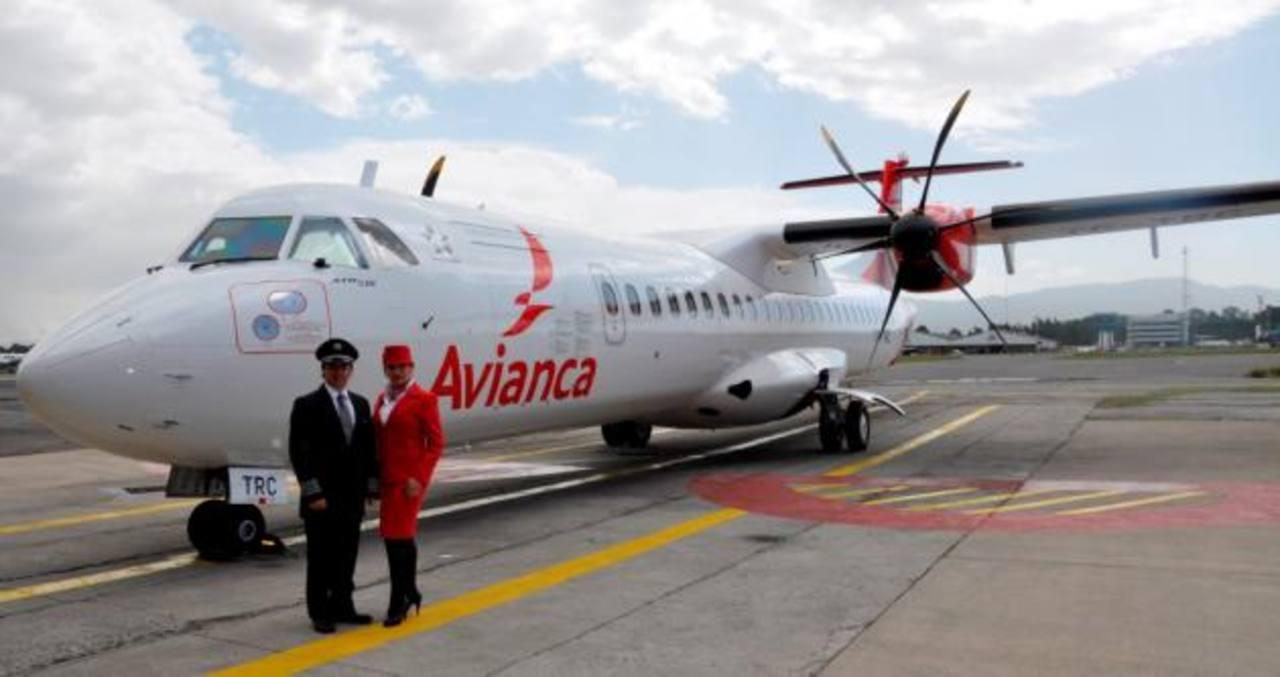 Los ATR 72-600 adquiridos por Avianca para sustituir su flota de ATR 42 que operan rutas centroamericanas y colombianas.