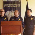 La jefatura de la PNC dio los detalles de los detenidos.