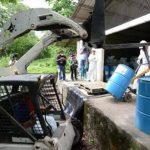Tóxicos de San Luis Talpa zarpan mañana hacia Polonia