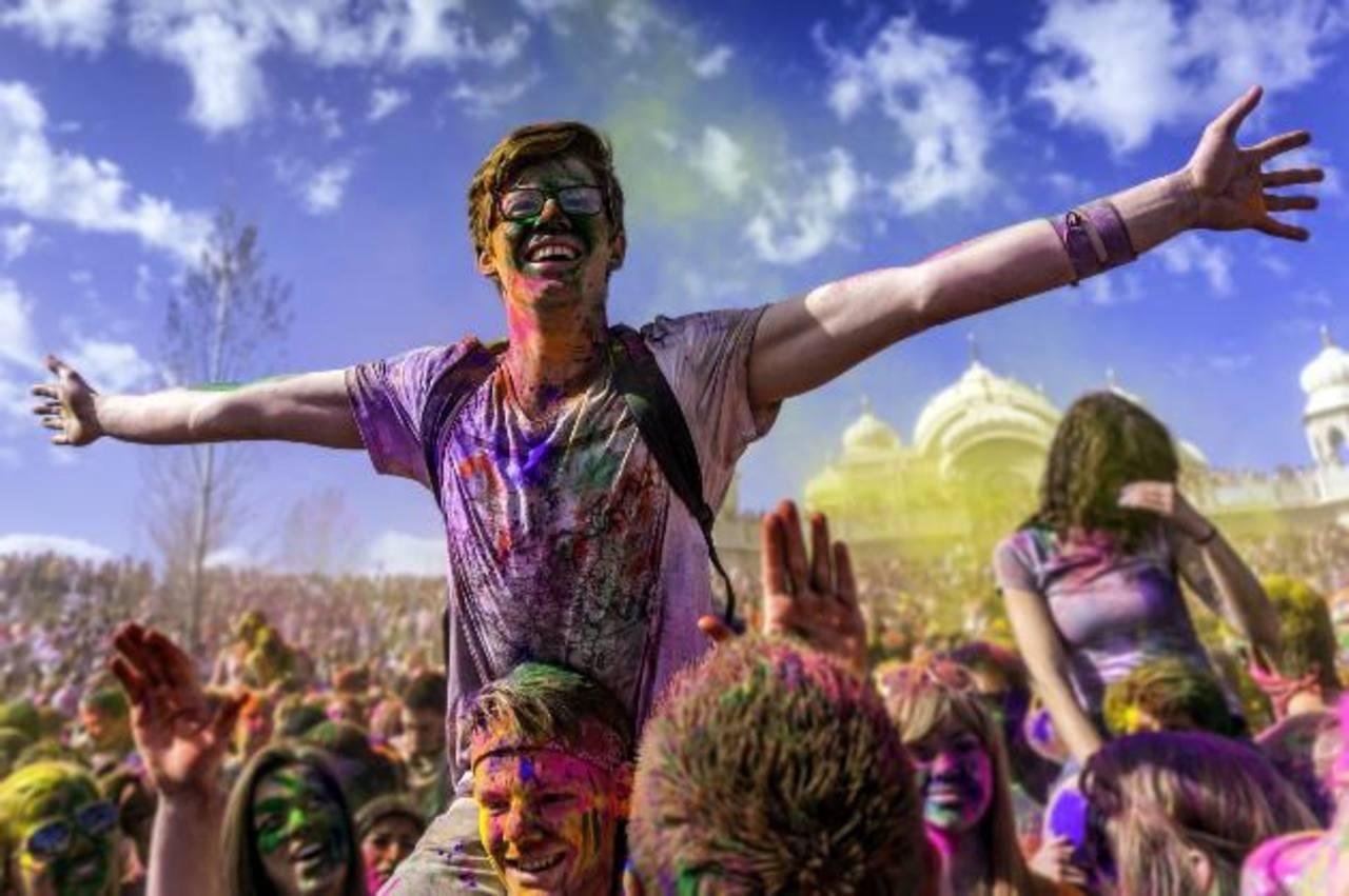 Color, alegría y música: elementos de esta fiesta.