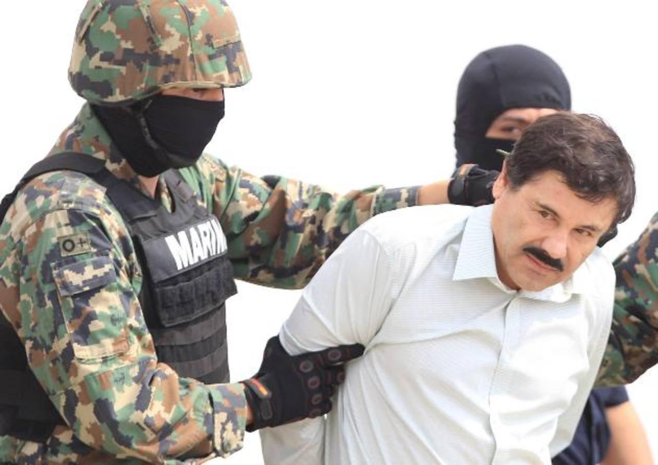 """Tribunal ampara a """"El Chapo"""" Guzmán"""