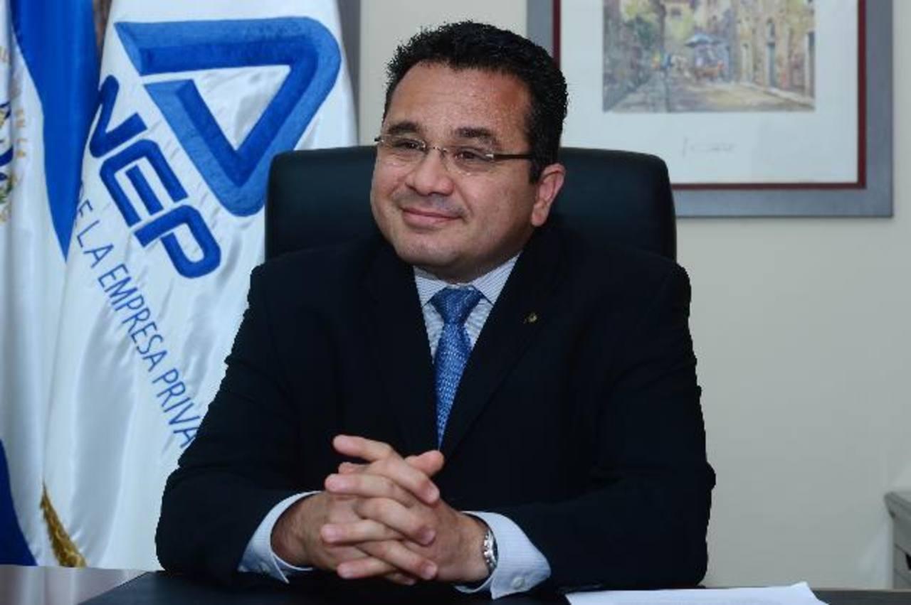 Que los delitos tengan sanciones económicas, propuso Jorge Daboub, presidente de la ANEP.