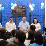 Hato Hasbún presidió programa Gobernando con la gente. EDH /omar Carbonero
