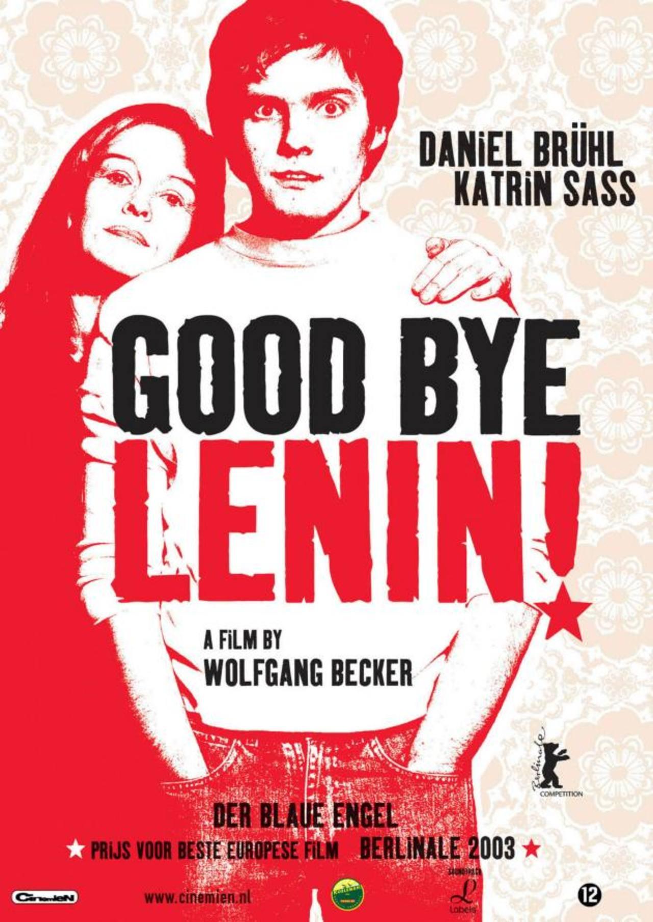 """Afiche de """"Adiós Lenin"""", cinta alemana que forma parte de la exhibición, la cual se llevará a cabo el 9, 10 y 11 de noviembre."""
