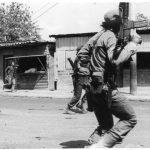 El impacto de la ofensiva es visible en toda la capital. Combates al norte de San Salvador.