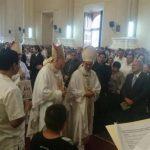 Centenares celebran en San Miguel misa en honor a la Virgen de la Paz