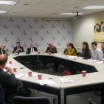 Representantes del International Crisis Group presentaron un informe sobre el estado actual de Venezuela, en un evento organizado por el Inter-American Dialogue.Foto EDH / gerardo torres.