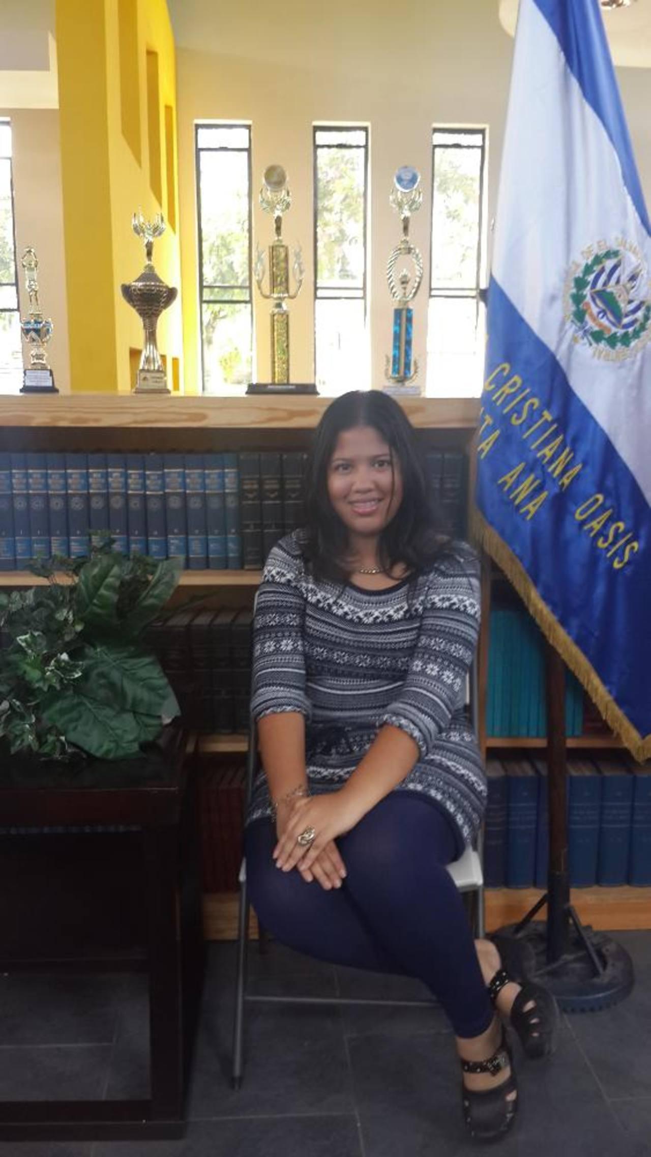 Los planes de Amanda Castro son estudiar mecatrónica en la universidad. foto Cortesía
