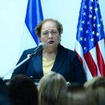 Embajadora de Estados Unidos, Mari Carmen Aponte.