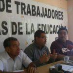 Sindicato de maestros convoca a marcha para el 13 de noviembre