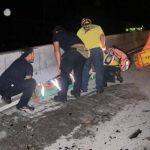 Al menos 12 personas lesionadas en accidentes de tránsito esta madrugada