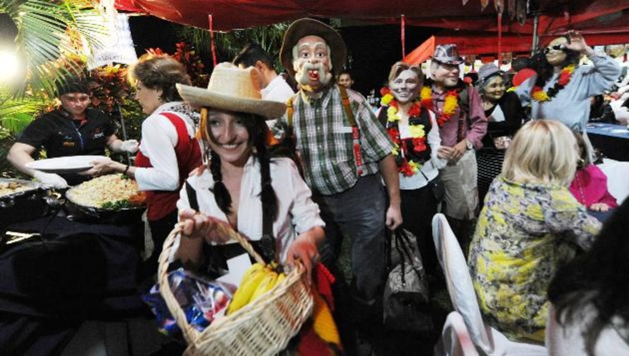 Con los años, los asistentes al Oktoberfest organizado por el Foro Cultural Alemán han aumentado. foto EDH / Claudia Castillo