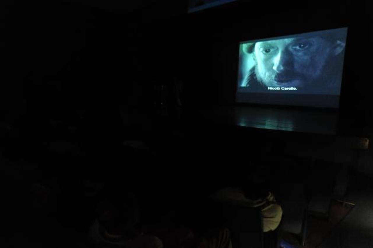 La película del cineasta Ermanno Olmi se unió a una premier continua que se realizó en varios países del mundo. El Muna fue la sede en el país. FOTO EDH / Lissette Monterrosa.