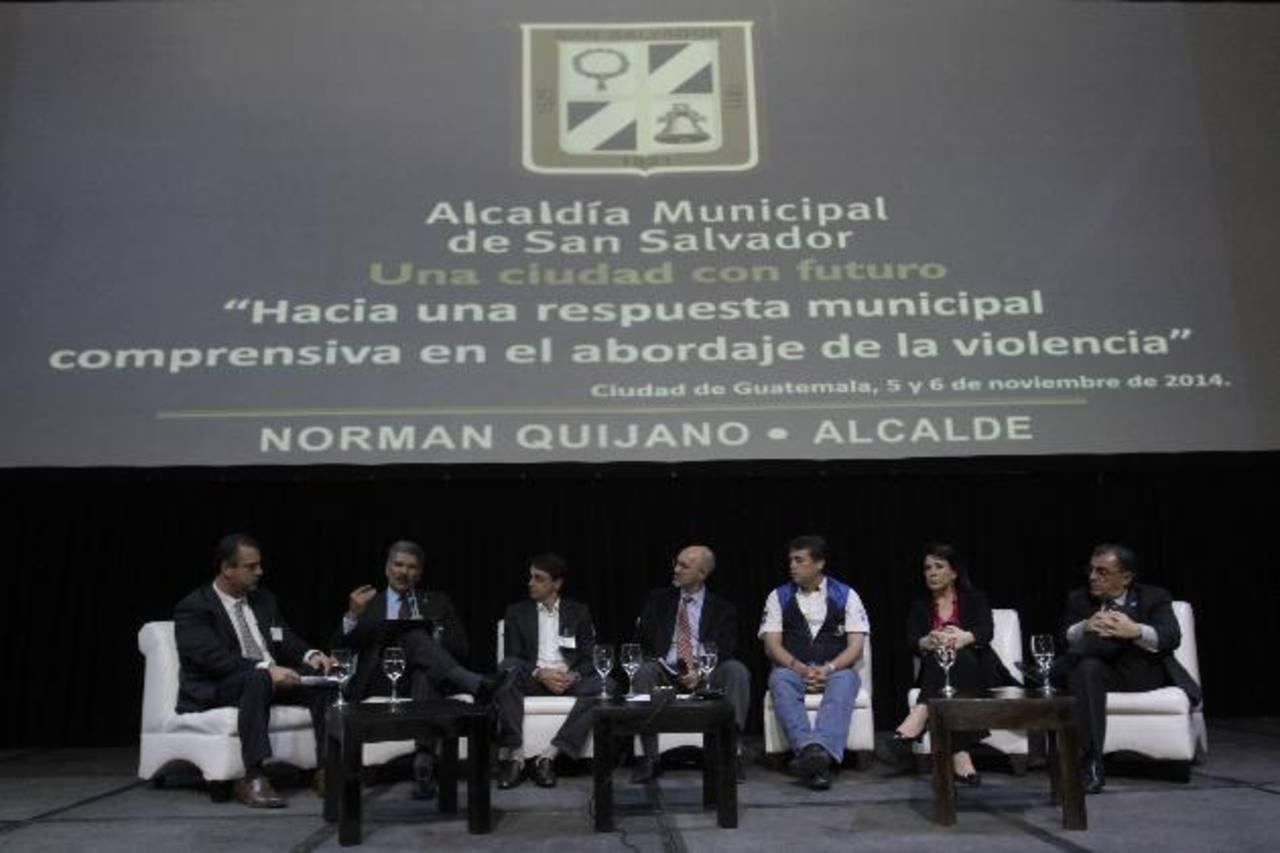Quijano destaca apuesta por jóvenes en foro contra violencia en Guatemala