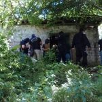 Autoridades verificaban un doble homicidio en San José Villanueva.
