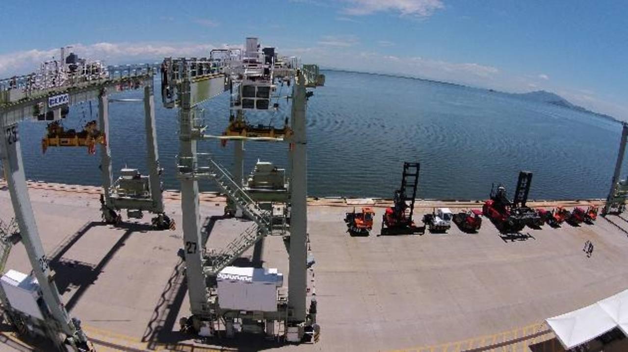 La concesión del Puerto La Unión entrará en su etapa final en medio de dudas por parte de las empresas. Foto EDH / Evelyn Linares